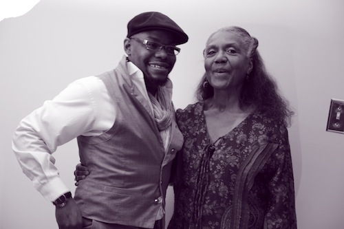 Brenda Dixon-Gottschild and Jaamil Olawale Kosoko