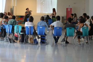 "Workshop ""Itinerant Studies Group,"" Federal University of Rio de Janeiro. Photo: Bárbara Fontana"