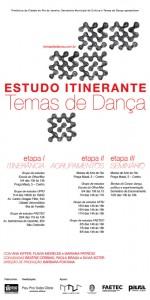 Temas de Dança program