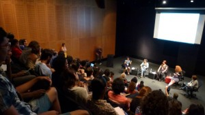 "Seminar ""The Body's Limits,"" Museu de Arte do Rio. Photo: Bárbara Fontana"