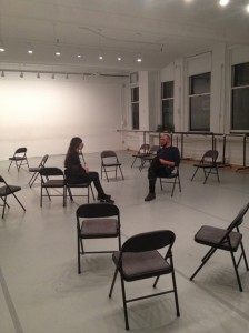 Dance and Publish Salon, photo by Movement Research
