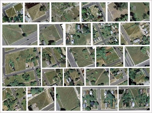 desire paths, Detroit (2009) www.sweet-juniper.com
