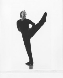 Jeff Friedman, choreographer and performer, in Muscle Memory (San Francisco, 1994). Photo by Steven Savage