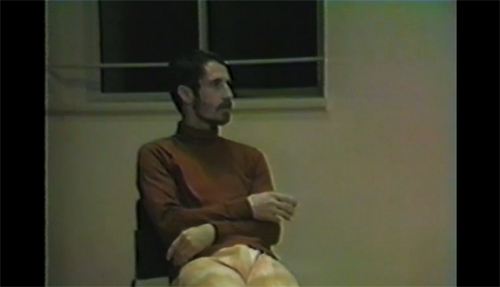 Steve Paxton, Video still