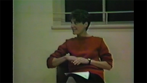 Mary Overlie, Video still