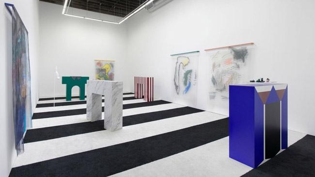 "Installation view, Strauss Bourque-LaFrance, ""No Aloha,"" Rachel Uffner Gallery, September 7 - October 19, 2014"